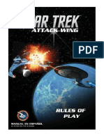 Star Trek Attack Wing en Español Reglas