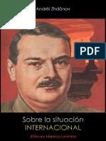 Andréi Zhdánov; Sobre la situación internacional, 1947.pdf