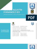 Rendicion de Cuentas Colegio Agustín Fernández Ied