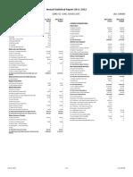 annual statistical report 2011-2012