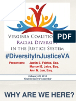 Diversity in Virginia's Justice System