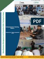 Brief Entrepreneurship training report Jan,2015 (3).pdf