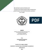 Isalm Dan Good Governance (Studi Landasan Keagamaan Dan Praktik Partisipasi POKJA PUTKP PWNU Jawa Tengah Dalam Penciptaan Tata Kelola Pemerintahan Yang Baik Di Jawa Tengah)