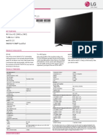 UF6450 Spec Sheet