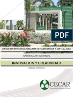 Innovacion y Creatividad-Innovacion y Creatividad