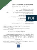 Interrogazione BRUNO GIUSEPPE E 20 CITTADINI RISPOSTA DEL SINDACO PROTOCOLLO 4271 5 APRILE 2016
