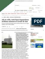 BRUNO FRANCESCO Afa in cella, Tutti fuori ergastolano siciliano massacra il rivale di clan - Cronaca Il Mattino di Padova.