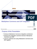 Websphere Commerce and SAP Int