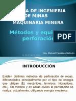 175666055 Metodos y Equipo de Perforacion 01 Pptx