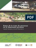 Rutas Trata de Personas Amazonia Peruana