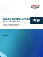Oracle Applications Cloud Environment Resizing v5