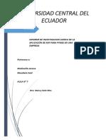 Informe de Investigacion LACTEOS GUERRERO