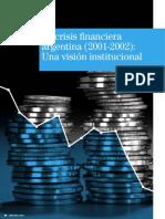 La Crisis Financiera Argentina 2001 2002 Una Vision Institucional