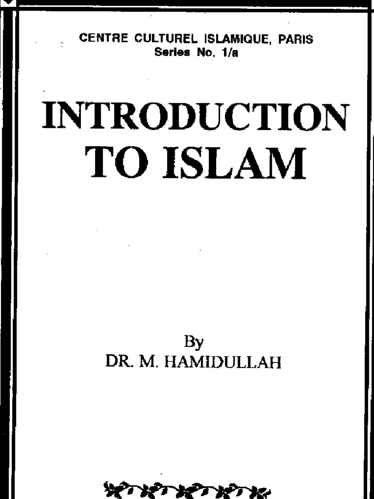 an introduction to the history of islam Arabic peninsula religions photo credit: islam pre-islamic arabia (early 6th century ce) to fully understand the history of islam, it is important to understand what life was like in pre-islamic arabia in the sixth century, the south was heavily populated by settled agriculturalists with well.