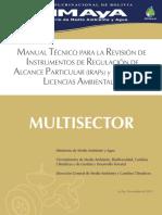 Manual Tecnico Iraps Multisector