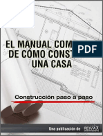 Manual Completo Como Construir Casa Por Constructora Reivax