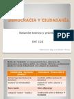 Democracia y Ciudadanía - RELACIÓN TÉORICA Y PRÁCTICA (Desarrollado)