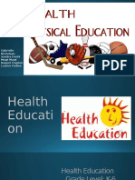 health education lesson plan