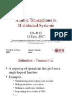 UNIT 7 -- Atomic Transactions.ppt