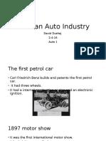 german auto industry