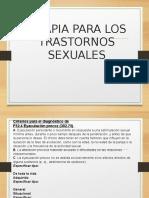 Clase 02 Terapia Para Los Trastornos Sexuales