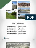 Utility Rates Presentation