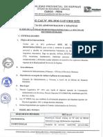 PROCESO CAS N° 01- 2016-GAF-ORH-MPE