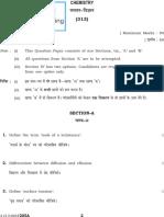 313 Chemistry Sr Secondary Paper 2012