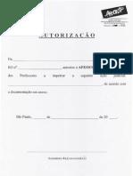 Documento Padrão 3 -  Ação Judicial