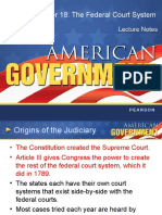 judicial branch lecture notes