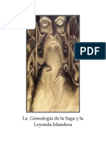 La Genealogia de La Saga y La Leyenda Islandesa