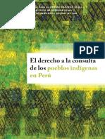 El Derecho a La Consulta de Los Pueblos Indigenas en El Peru