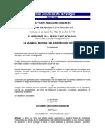 Ley No 156 Ley Sobre Radiaciones Ionizantes.7607