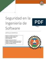 Seguridad en Ingeniería de Software
