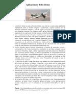 Aplicaciones y de Los Drones