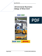 Business Strategy of Blue Dart DHL