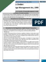 CA Final Law Amendments for May 2016