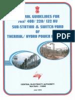 EHV Substation guidelines