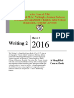 Simplified_Course_Book of Writing 2 by Dr. Shaghi 2015-2016