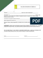 Declaracion Jurada de Ingresos 2014 2015