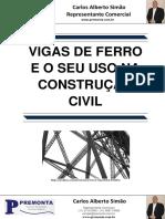 Vigas de Ferro e o seu uso na Construção Civil