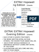 extra  extra  hopewell evening edition  15cents