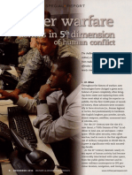Cyber Warfare Ushers in 5th Dimension of Human Conflict
