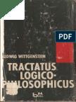 Wittgenstein Tractatus Logico Philosophicus (Português)
