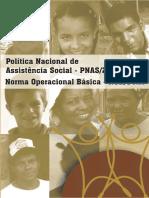 02 Politica Nacional de Assistencia Social PNAS 2004