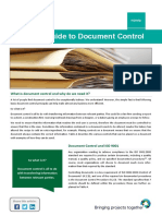 QHelp a Simple Guide to Document Control 1