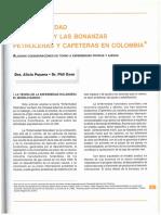 Puyana & Oxon - Enfermedad Holandesa y Bonanzas Petroleras y Cafeteras en Colombia
