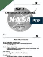 NASA - Fastener Design Course - Barrett