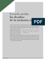 Escuela media, Los desafios de la inclusion masiva (RESUMIDO).pdf