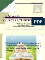 La Novela y sus caracteristicas.